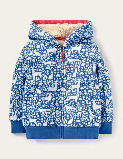 Shaggy-lined Hoodie