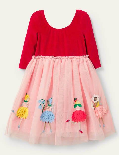 Velvet Bodice Tulle Dress