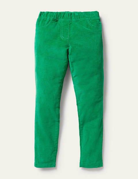 Cord Leggings - Highland Green