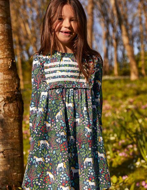 Nostalgic Ruffle Dress