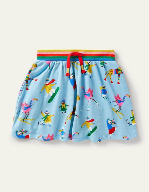 Cosy Twirly Sweatshirt Skirt