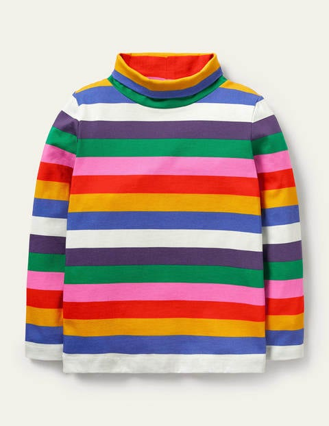 Roll Neck Supersoft T-shirt
