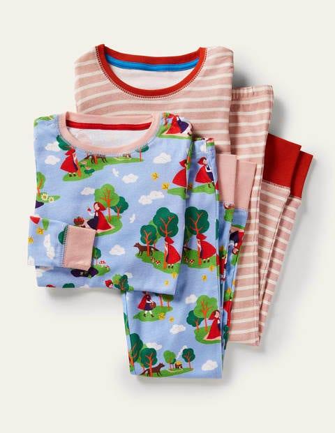 Schlafanzug im 2er-Pack mit anliegender Passform