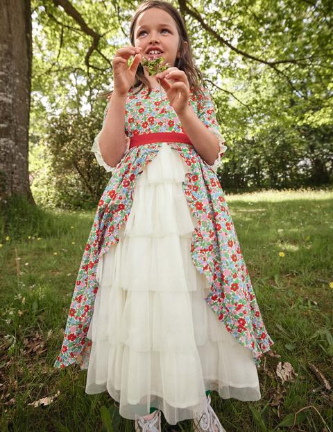 Floral Tiered Dress