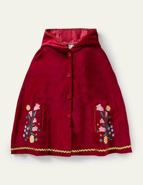 Velvet Embroidered Cape