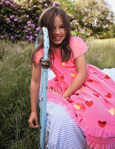 Heart Tulle Party Dress