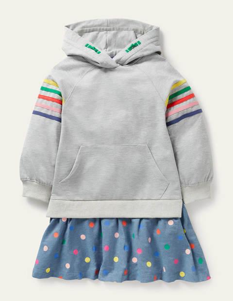 Cosy Hooded Sweatshirt Dress