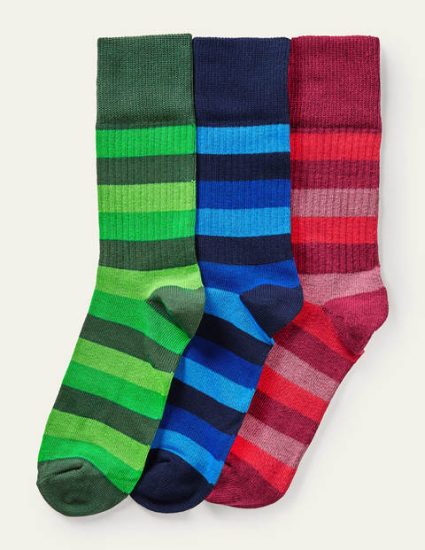 Favourite ribbed Socks - Rugby Tonal Multi Stripe