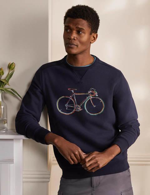 Supersoft Sweatshirt - Bike Embroidery