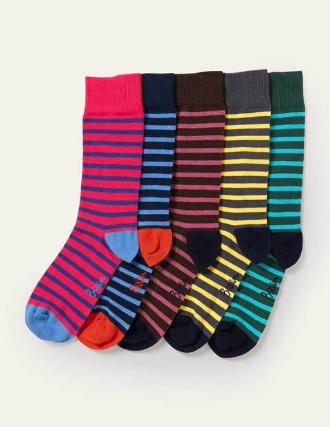 5 Pack Favourite Socks