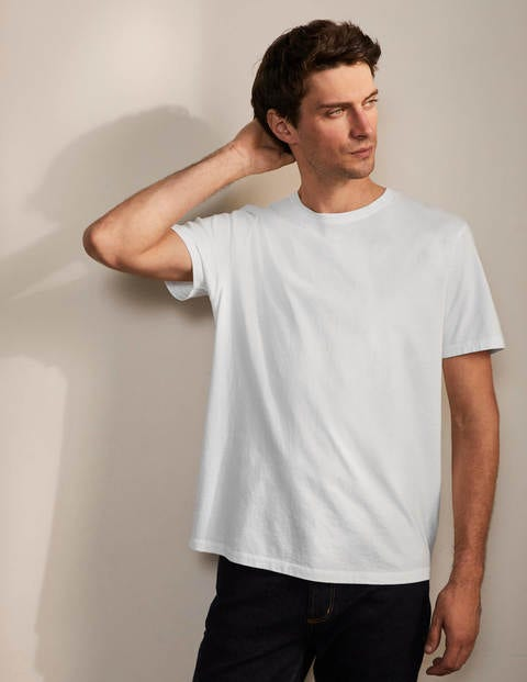 Washed T-shirt - White