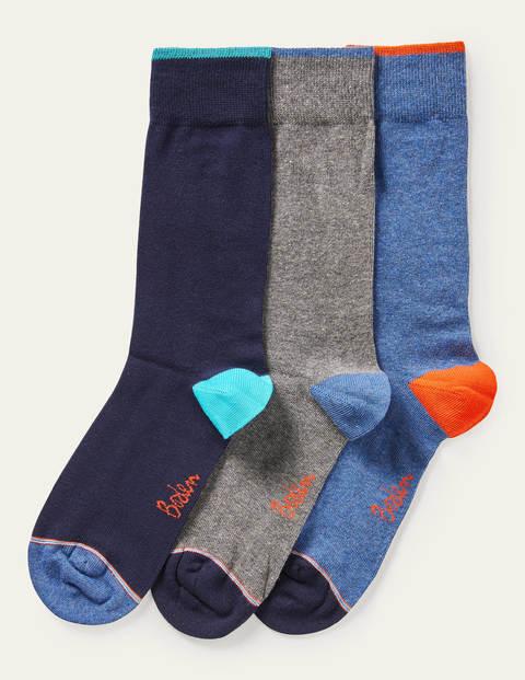 Favourite Socks - Plain Signature Stripe Pack