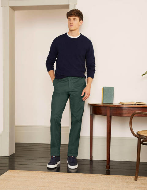 Original Straight Leg Chinos - Richmond Green