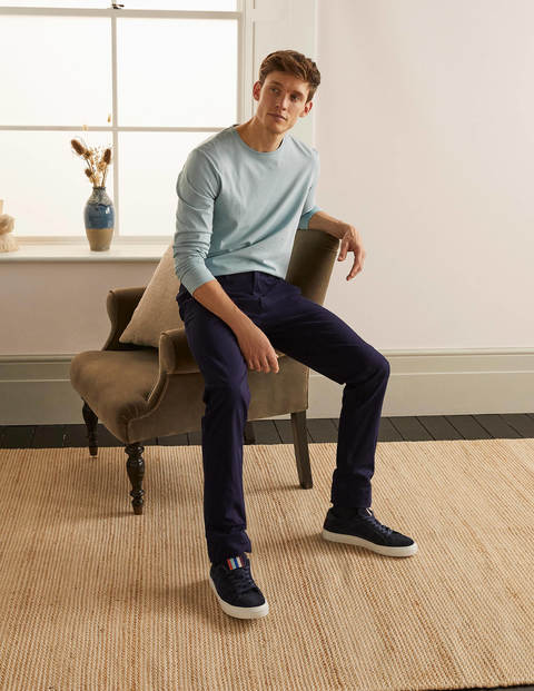 Original Slim Leg Chinos - Navy