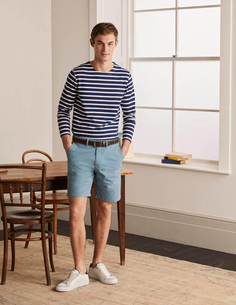 Chino Shorts - Storm Blue