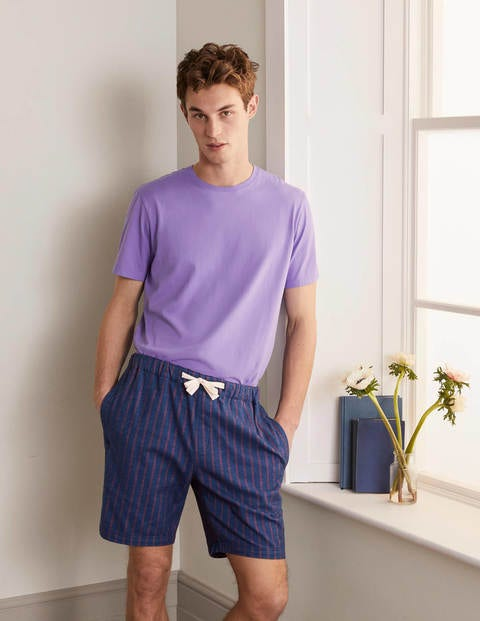 Brushed Cotton Pajama Shorts