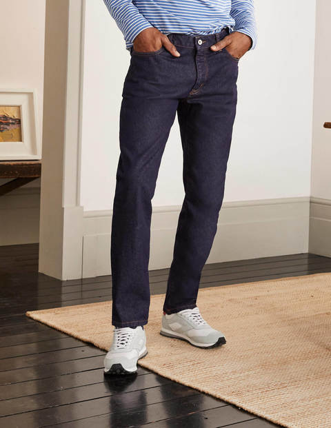 Slim Leg Jeans - Dark Rinse Denim