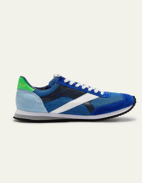 Walsh Tornado Trainers - Bold Blue