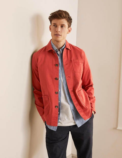 Kentmere Overshirt - Washed Red