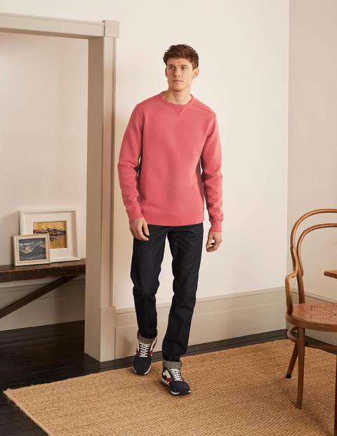 Colourblock Sweatshirt - Dusky Rose