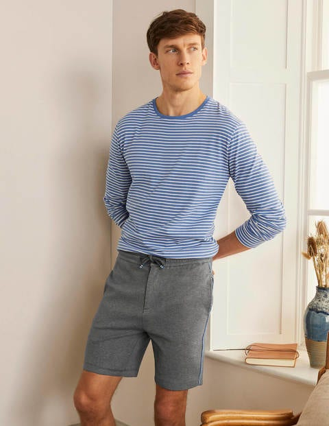 Side Stripe Jogger Shorts