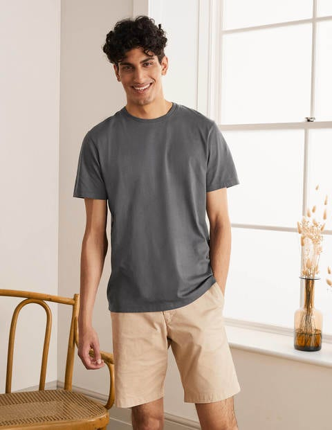 Washed T-shirt - London Grey