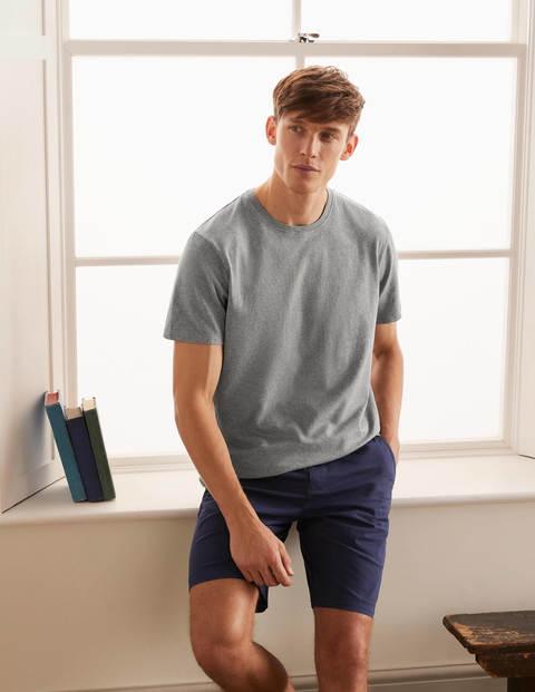 Vorgewaschenes T-Shirt - Grau Meliert