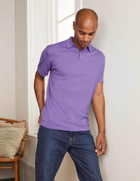 Finsbury Knitted Polo - Petunia