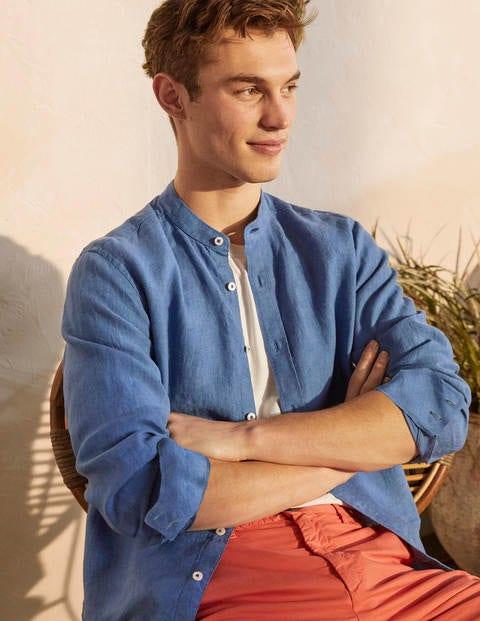 Linen Grandad Shirt