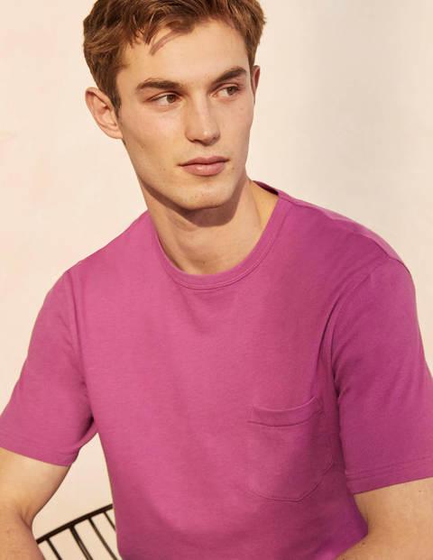 T-Shirt aus Leinenmischgewebe
