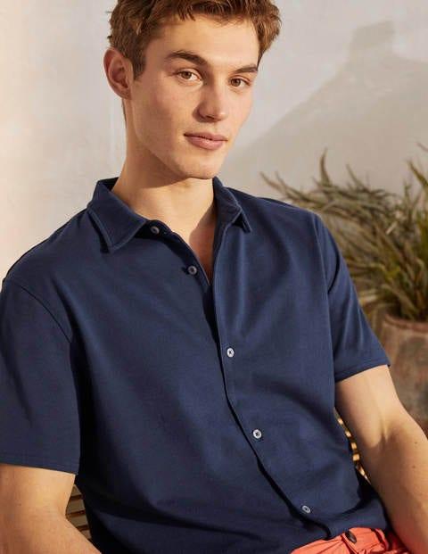 Jerseyhemd mit kurzen Ärmeln