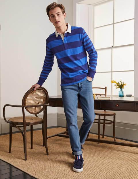 Jeans mit schmalem Bein - Denim, helle Waschung
