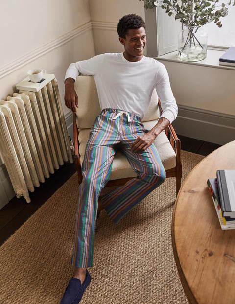 Cotton Poplin Pajama Bottoms