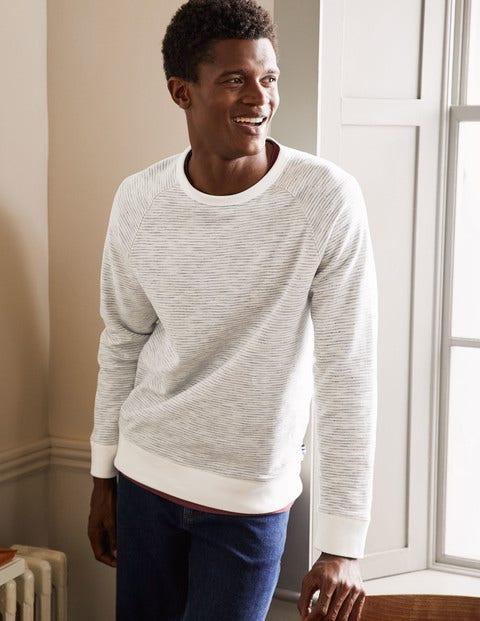 Danby Brushed Sweatshirt - Grey Stripe
