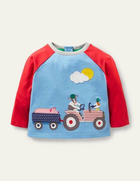Lift-the-flap Raglan T-shirt