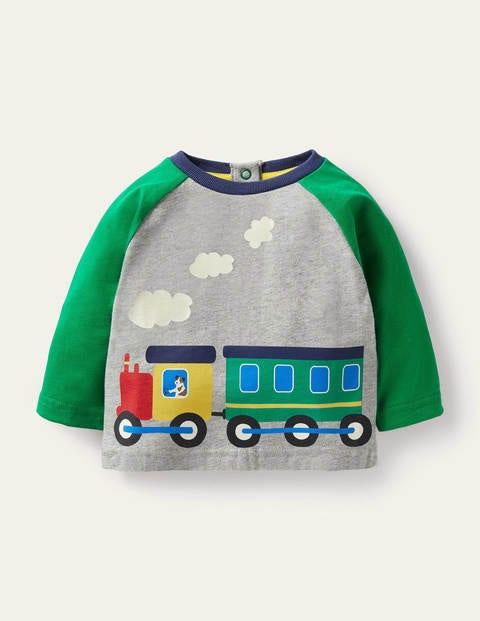 Printed Train T-Shirt