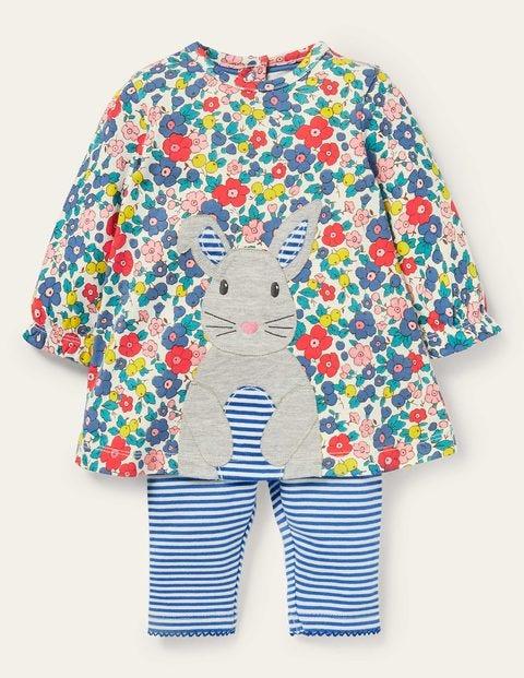 Bunny Appliqué Play Set Dress