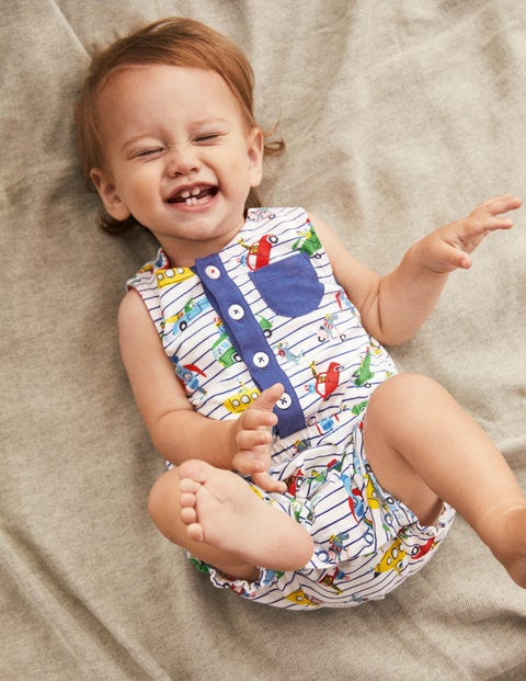 Animal Adventures Romper