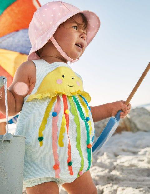 Barboteuse à appliqué méduse