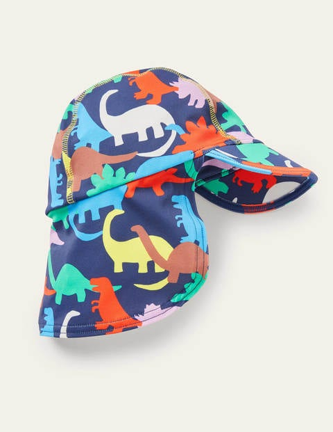 Sun-safe Swim Hat - Multi Dino