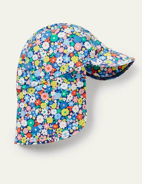 Sun-safe Swim Hat - Multi Flowers