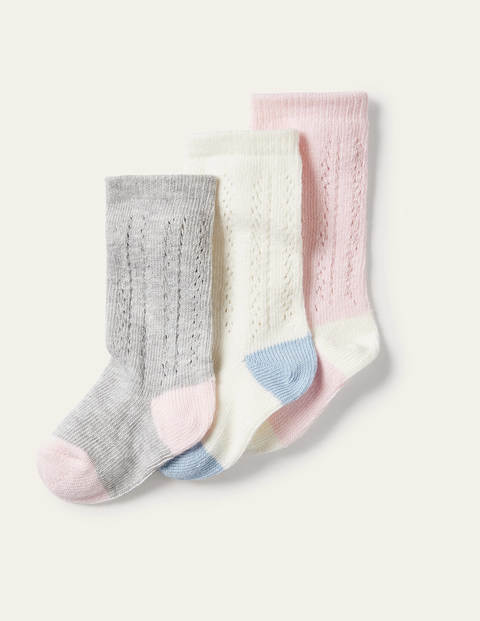 Lace Stitch Socks 3 Pack