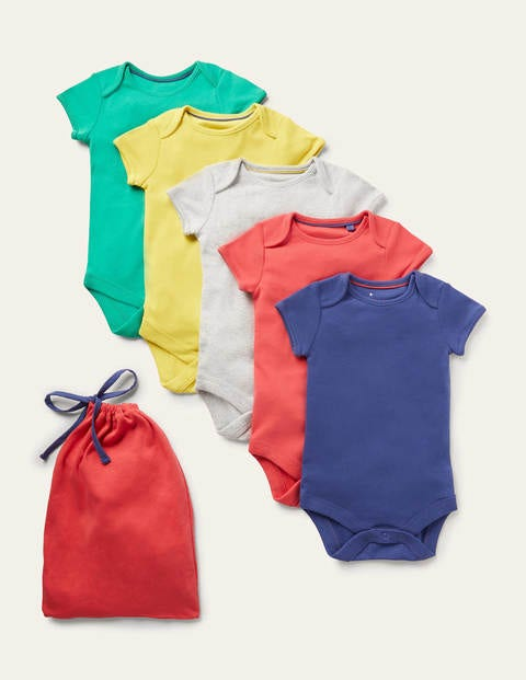 Boys 5 Pack Rainbow Bodies