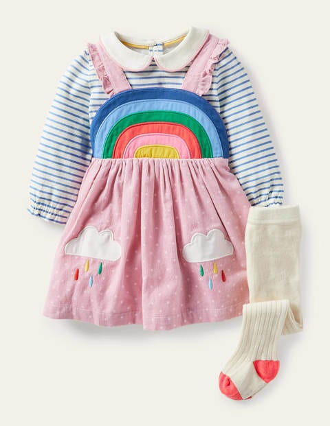 Rainbow Pinnie 3 Piece Set - Boto Pink Pin Spot
