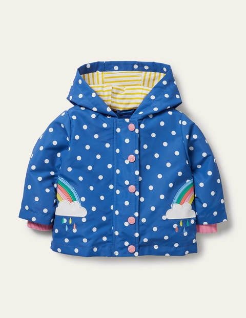 Rainbow 3-in-1 Printed Jacket