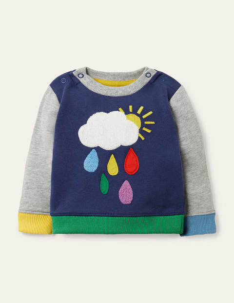 Cosy Weather Sweatshirt - Starboard Blue Weather