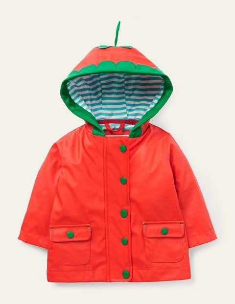 Wasserabweisende Regenjacke RED Baby Boden, RED