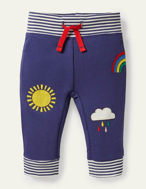 Novelty Appliqué Bottoms - Starboard Blue Weather