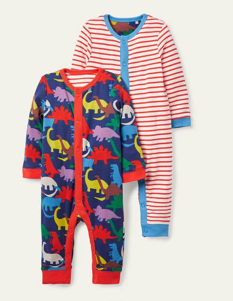 Jersey Twin Pack Rompers