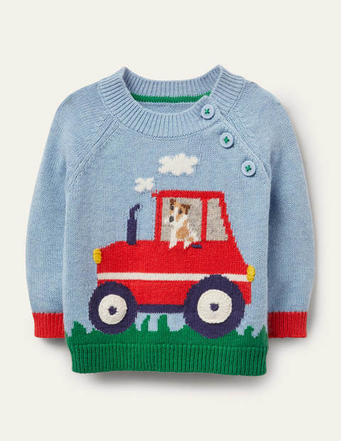 Knitted Tractor Jumper